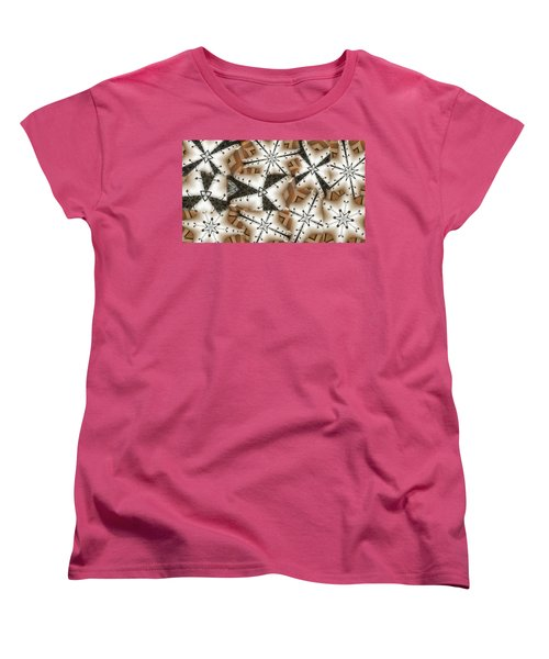 Women's T-Shirt (Standard Cut) featuring the digital art Stitched 3 by Ron Bissett