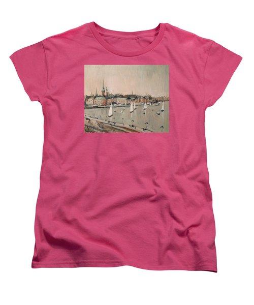 Stockholm Regatta Women's T-Shirt (Standard Cut) by Nop Briex