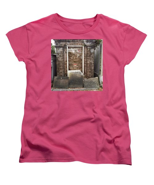Women's T-Shirt (Standard Cut) featuring the photograph Stones And Markers by Kim Nelson