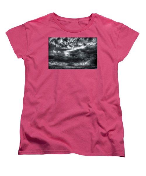 Storm Clouds Ventura Ca Pier Women's T-Shirt (Standard Cut)