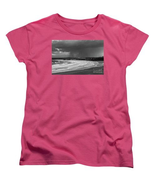 Storm  Over The Bay Women's T-Shirt (Standard Cut) by Nicholas Burningham