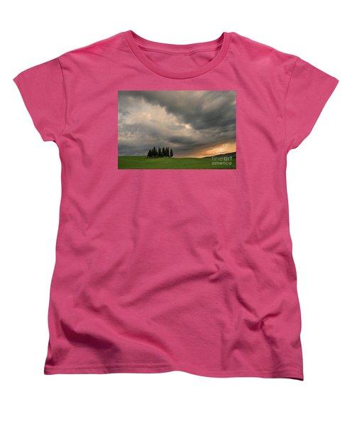 Stormy Day Women's T-Shirt (Standard Cut) by Yuri Santin