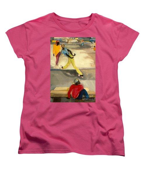 Street Scene Women's T-Shirt (Standard Cut) by Daun Soden-Greene