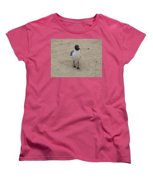 Struttin' Seagull  Women's T-Shirt (Standard Cut) by Charles Kraus