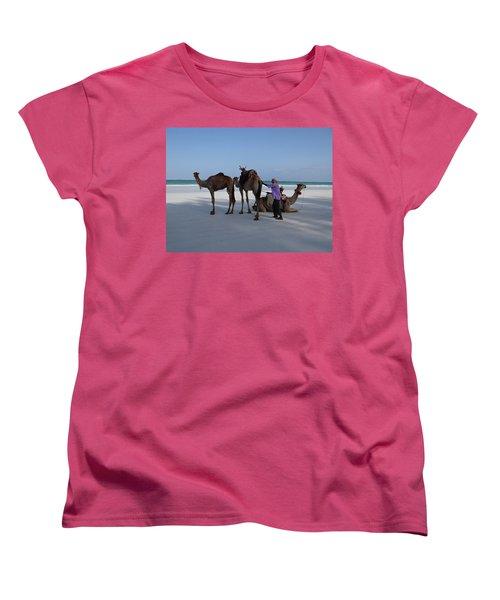 Stubborn Wedding Camels Women's T-Shirt (Standard Fit)