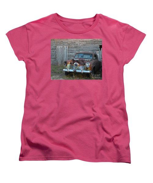 Studebaker Sitting Women's T-Shirt (Standard Cut) by Renie Rutten