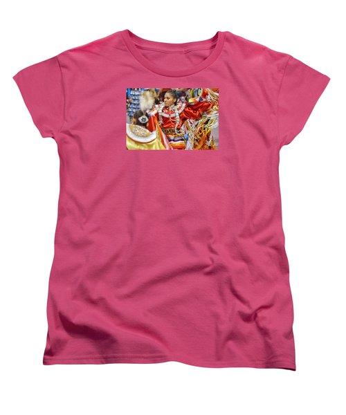Studying Keya Clairmont 2 Women's T-Shirt (Standard Cut) by Clarice Lakota
