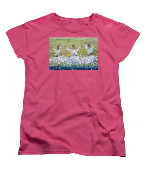 Sufi Whirling Women's T-Shirt (Standard Cut)