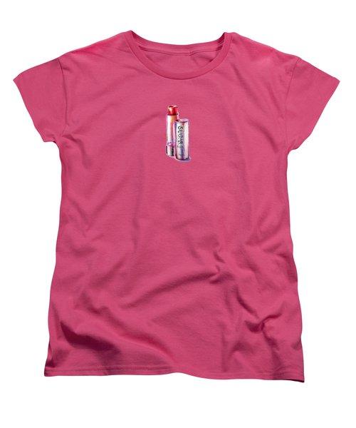 Sugar Rose Women's T-Shirt (Standard Cut) by Willow Heath