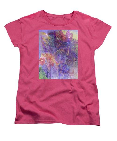 Summer Awakes Women's T-Shirt (Standard Cut) by John Robert Beck