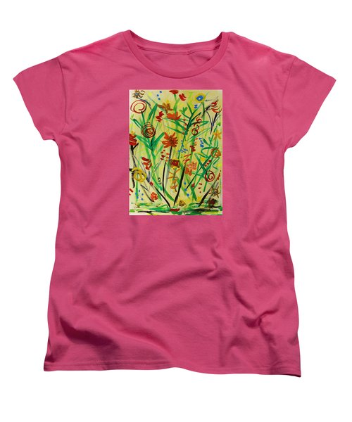 Summer Ends Women's T-Shirt (Standard Cut) by Mary Carol Williams