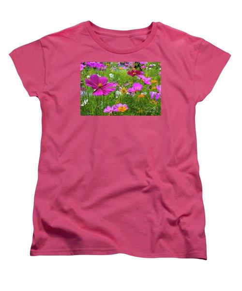 Summer Flower Garden Women's T-Shirt (Standard Cut)