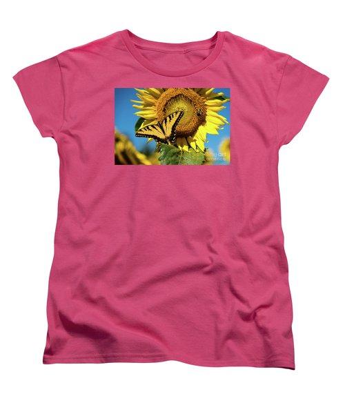 Women's T-Shirt (Standard Cut) featuring the photograph Summer Friends by Sandy Molinaro