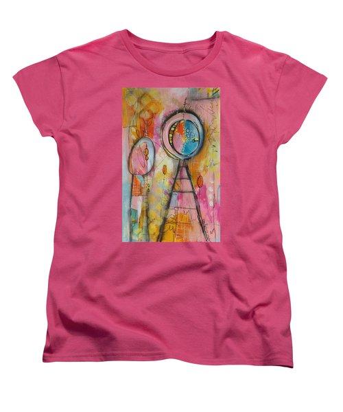 Summer Women's T-Shirt (Standard Cut) by Karin Husty
