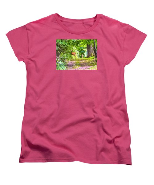 Women's T-Shirt (Standard Cut) featuring the photograph Summer Stroll by Anthony Baatz
