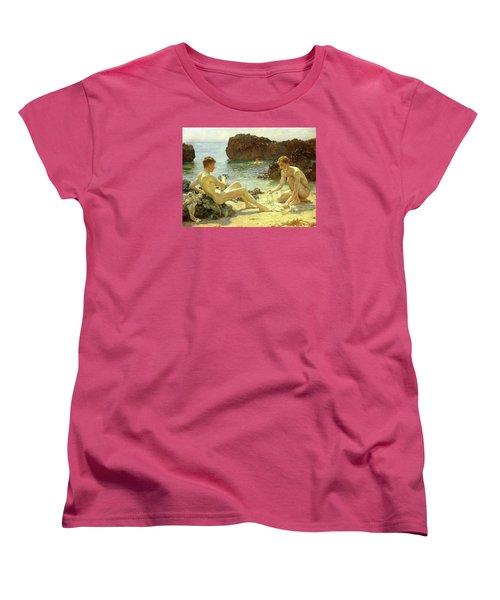 Sun Bathers Women's T-Shirt (Standard Cut) by Henry Scott Tuke