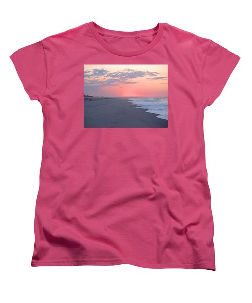 Women's T-Shirt (Standard Cut) featuring the photograph Sun Brightened Clouds by  Newwwman