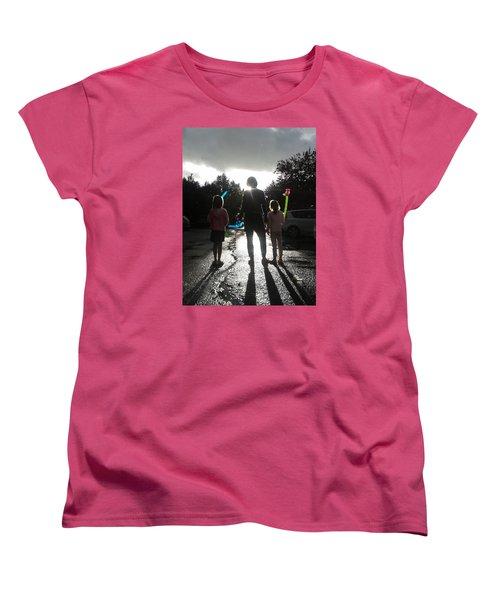 Sun Drops Women's T-Shirt (Standard Cut) by Giuseppe Epifani