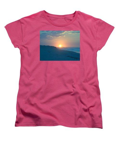 Women's T-Shirt (Standard Cut) featuring the photograph Sun Dune by  Newwwman