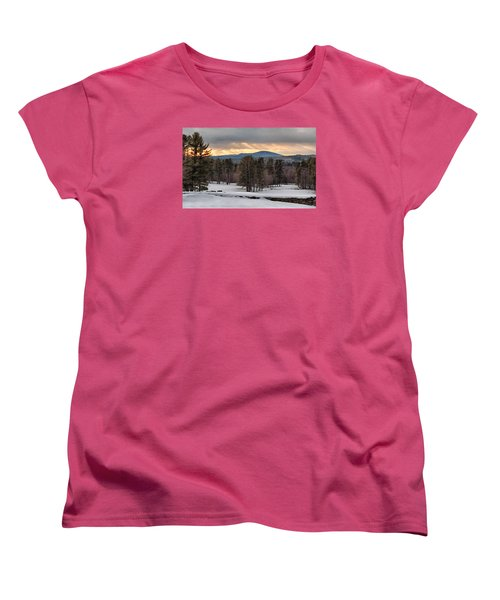 Sun Rays Women's T-Shirt (Standard Cut) by Betty Pauwels