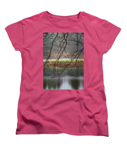 Women's T-Shirt (Standard Cut) featuring the photograph Sun Shower by Bill Wakeley