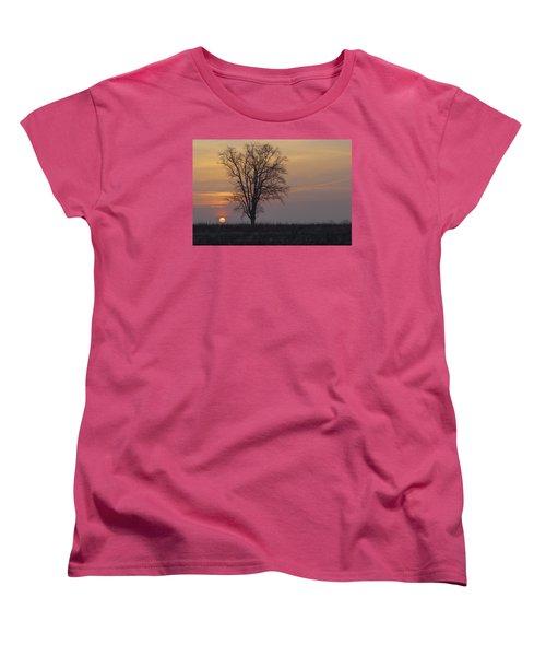 Sunday At Dawn Women's T-Shirt (Standard Cut) by Cesare Bargiggia