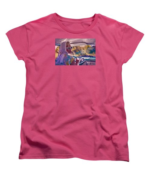 Sunday Drive Women's T-Shirt (Standard Cut) by Louis Ferreira
