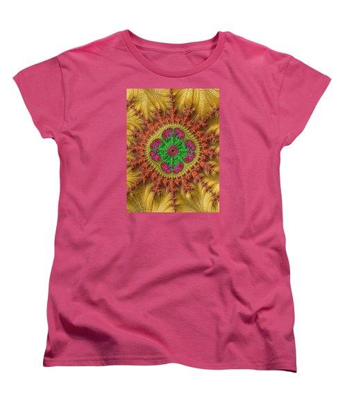 Women's T-Shirt (Standard Cut) featuring the photograph Sungold by Ronda Broatch