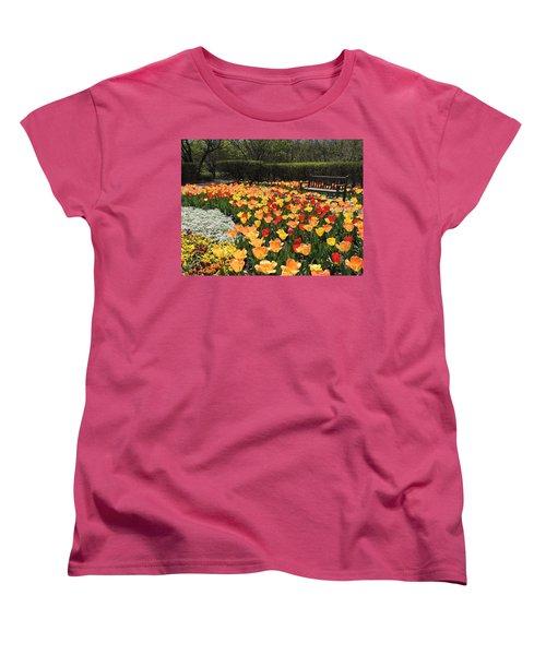 Sunny Days Women's T-Shirt (Standard Cut) by Teresa Schomig