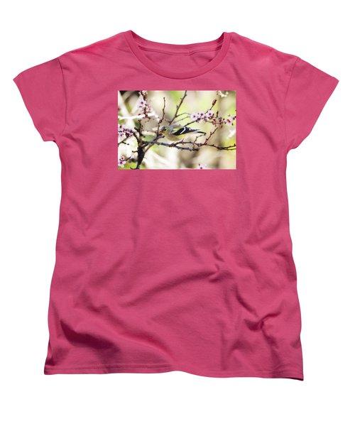 Sunny Days Women's T-Shirt (Standard Cut) by Trina Ansel