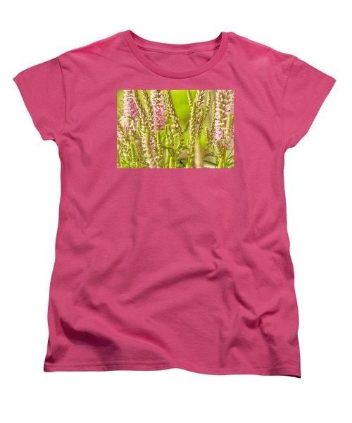 Sunny Lupine Women's T-Shirt (Standard Cut) by Bonnie Bruno