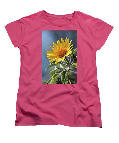 Women's T-Shirt (Standard Cut) featuring the photograph Sunny Side Up  by Saija Lehtonen
