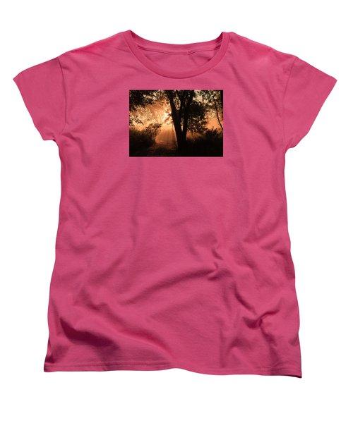 Sunrise In The Marsh 3 Women's T-Shirt (Standard Cut) by Joni Eskridge