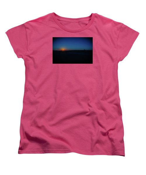 Sunrise On The Reservation Women's T-Shirt (Standard Cut) by Mark Dunton