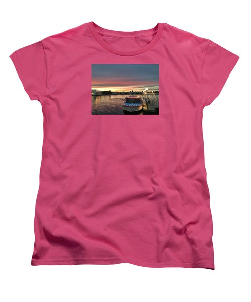 Sunset From The Boardwalk Women's T-Shirt (Standard Cut)