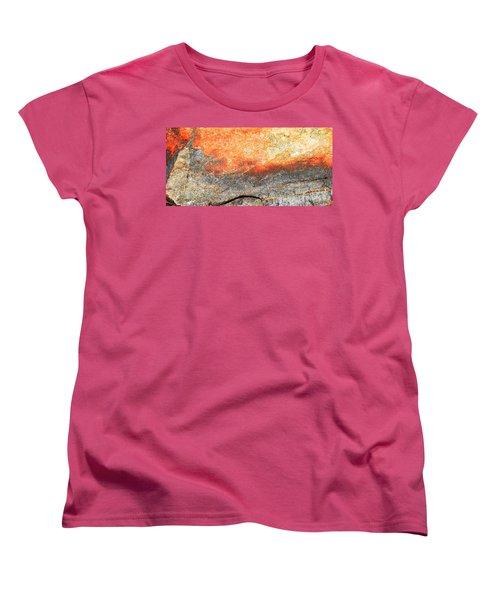 Sunset Rock Scene Women's T-Shirt (Standard Cut)