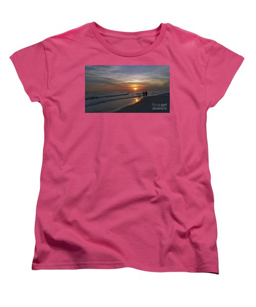 Women's T-Shirt (Standard Cut) featuring the photograph Tranquility by Terri Mills