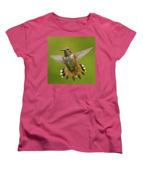 Surprise Women's T-Shirt (Standard Cut) by Sheldon Bilsker