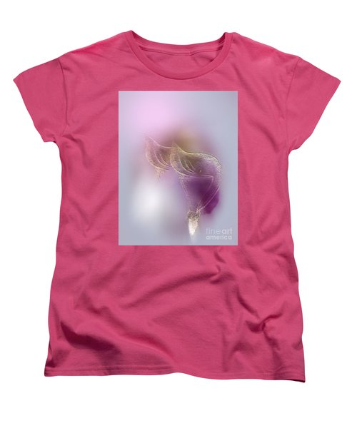 Women's T-Shirt (Standard Cut) featuring the digital art Surreal Calla 2 by John Krakora
