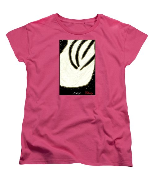 Swan Women's T-Shirt (Standard Cut) by Clarity Artists