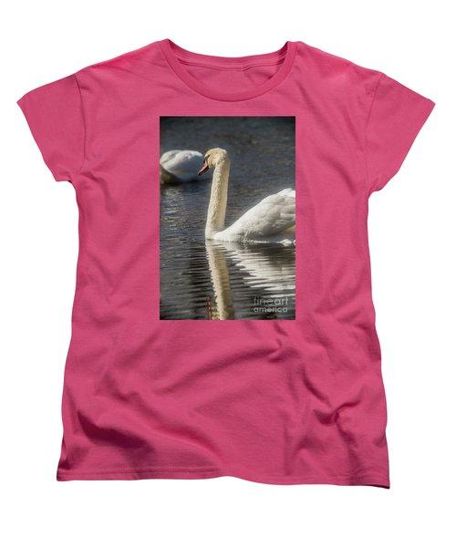 Women's T-Shirt (Standard Cut) featuring the photograph Swan by David Bearden