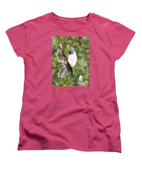 Sweet And Endearing Women's T-Shirt (Standard Cut) by Tina  LeCour
