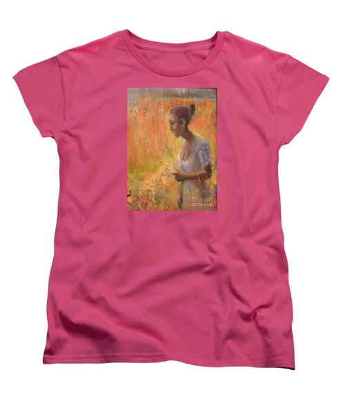 Sweet Grass Women's T-Shirt (Standard Cut) by Gertrude Palmer