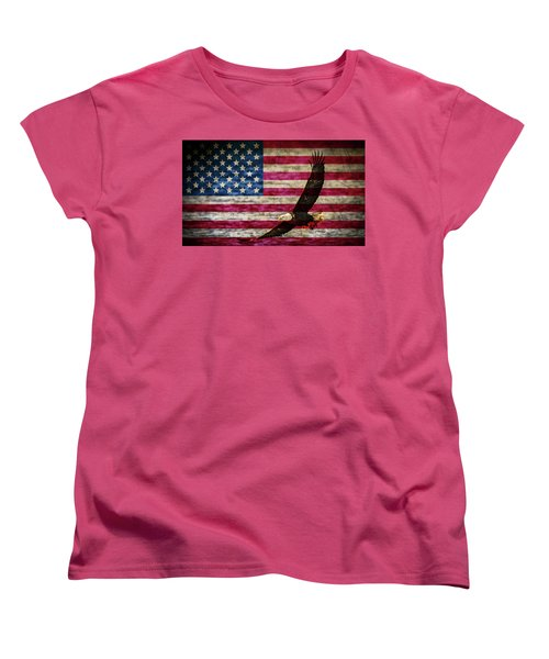 Symbol Of Freedom Women's T-Shirt (Standard Cut)