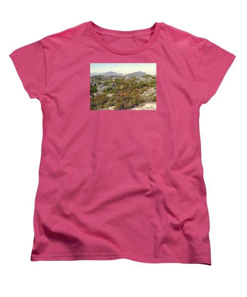 Table Rock Summit Women's T-Shirt (Standard Cut) by John Potts