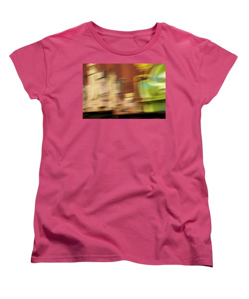 Tagged - Train Graffiti Women's T-Shirt (Standard Cut) by Jane Eleanor Nicholas