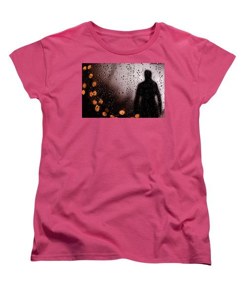Women's T-Shirt (Standard Cut) featuring the photograph Take Your Light With You by David Sutton