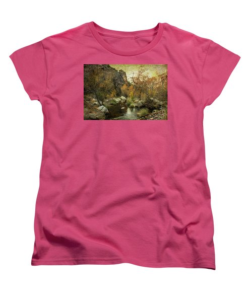 Taking A Hike Women's T-Shirt (Standard Cut)