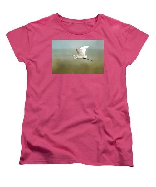 Taking Off  Women's T-Shirt (Standard Cut) by Betty Pauwels