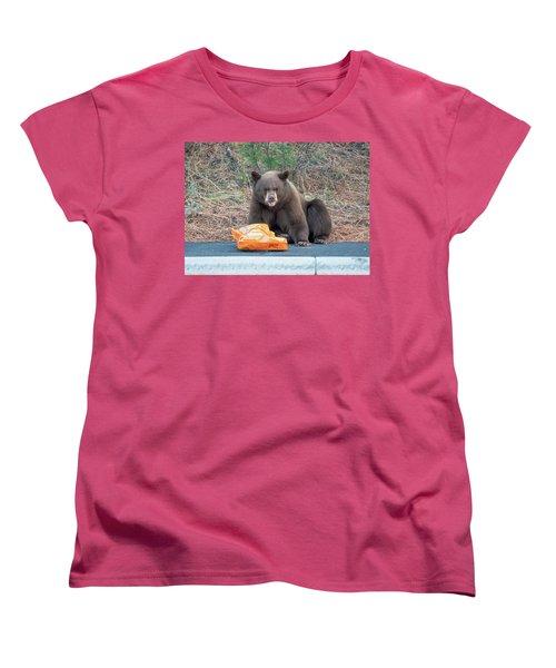 Taste Of The Wild Women's T-Shirt (Standard Cut) by Scott Warner